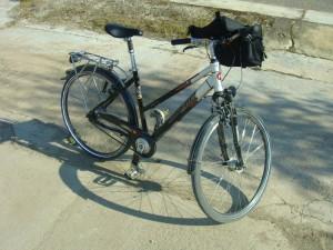 Ein Kalkhoff Rad mit 8-Gang Nabe und Mixte Rahmen