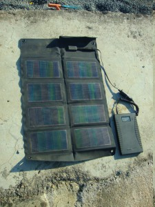 faltbare Solarzelle, Powergorilla