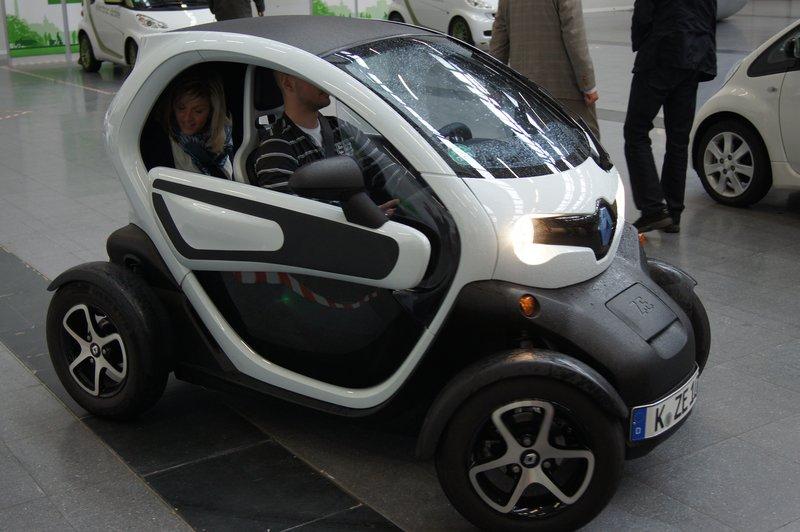 der Renault twizy, Foto: e-Rad Hafen