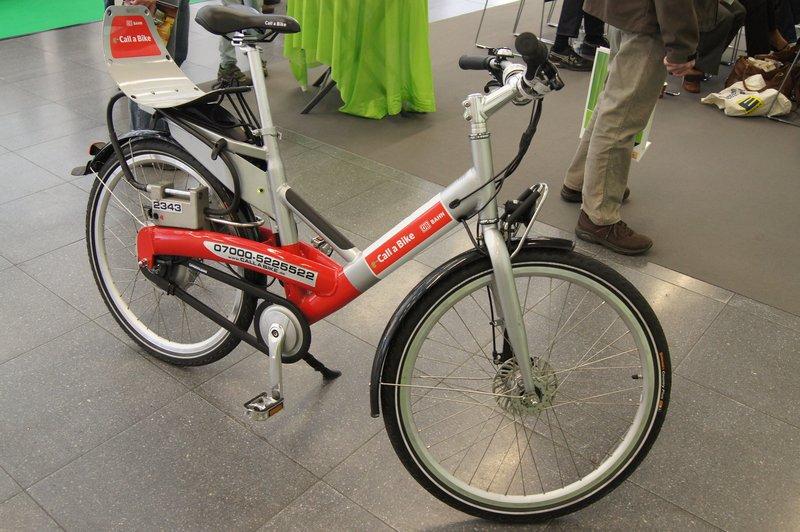 Das Bahn e-Bike, Foto: e-Rad Hafen