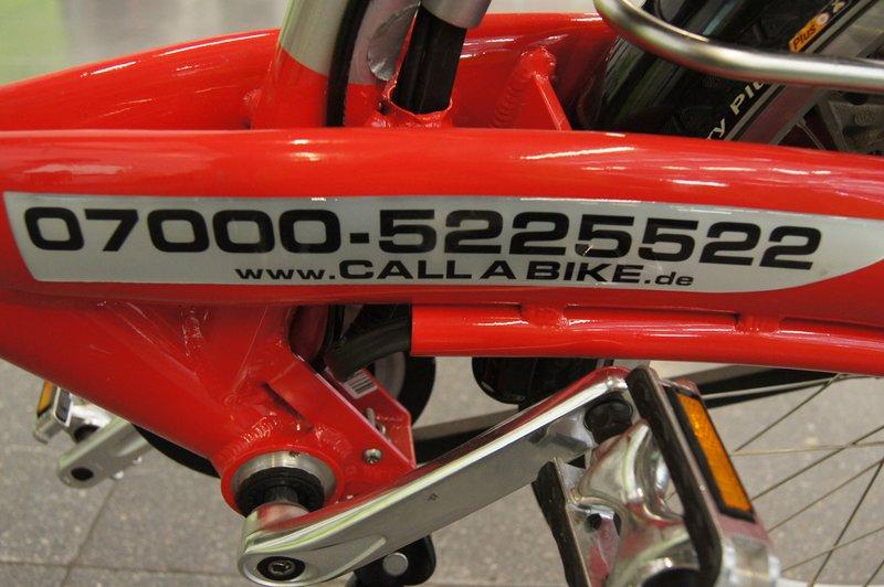 e Call a Bike  Foto: e-Rad Hafen