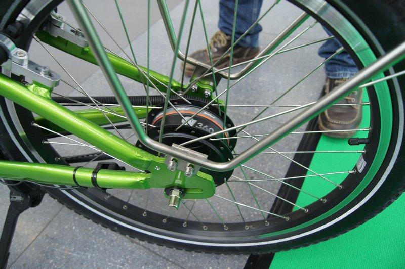 NuVinci Nabenschaltung am gobax Cargo Bike,  Foto: e-Rad Hafen