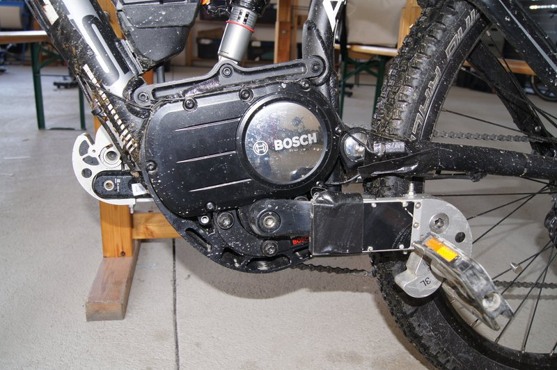 ...180 Grad gedrehter Boschantrieb, das macht schon seit einer Weile Schule. Foto: e-Rad Hafen
