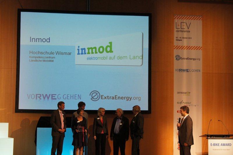 Award-Sieger inmod, Foto: e-Rad Hafen