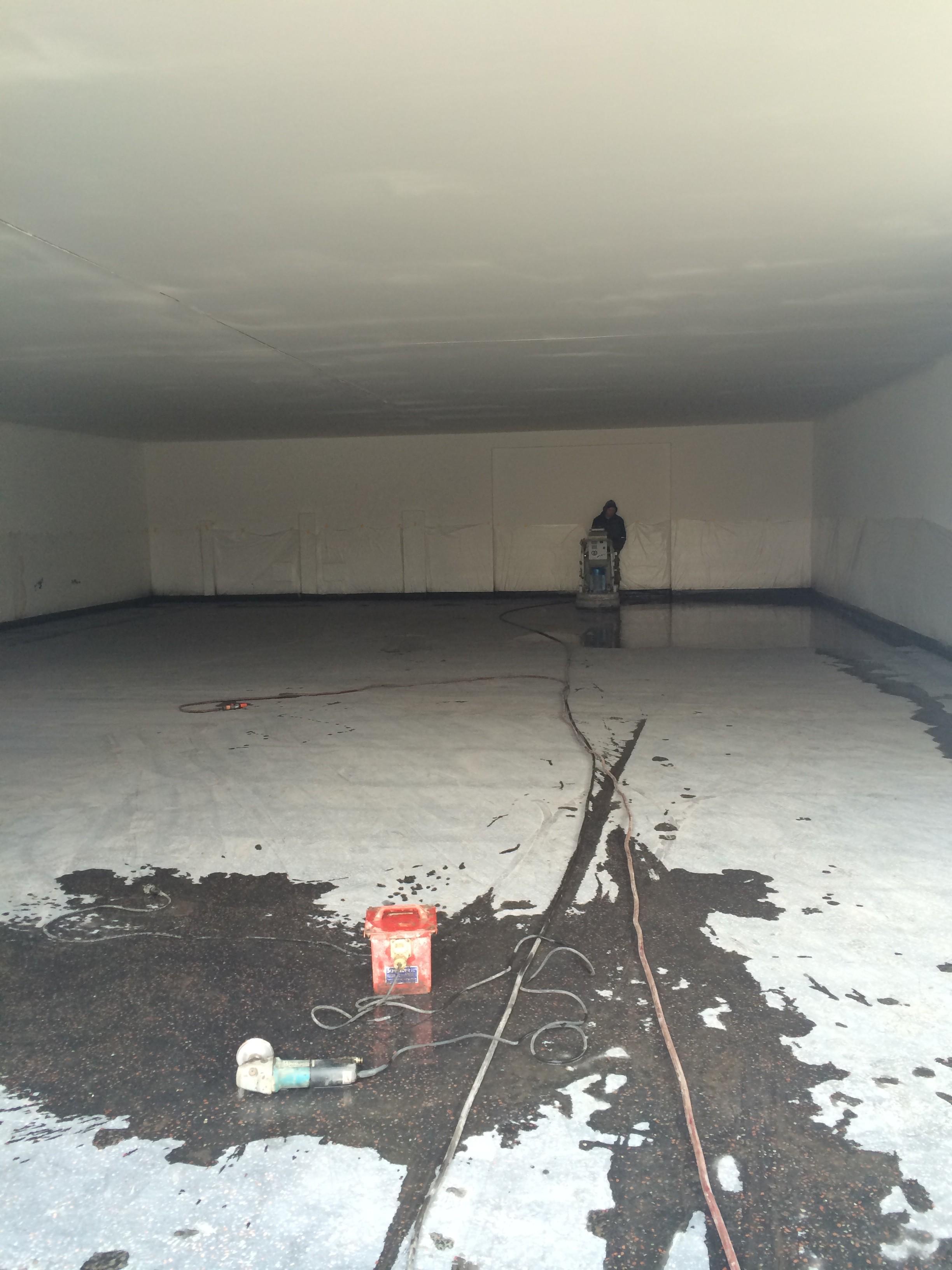 Die Testhalle bei ExtraEnergy wird umgbaut, Foto: W. Hartmann