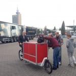 Lastenräder auf der IAA Nutzfahrzeuge 2014
